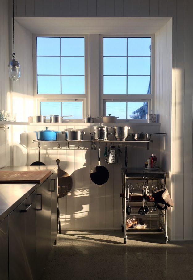 Scottish holiday cottages homes accommodation kitchen window