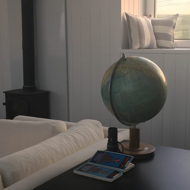Scottish holiday cottages homes accommodation living room globe
