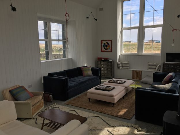 Scottish holiday cottages homes accommodation living room windows