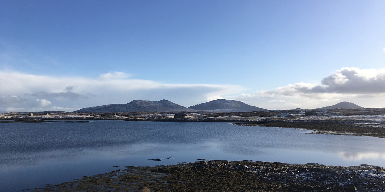 tigharry-schoolhouse-north-uist-self-catering-accommodation-view-loch-blashaval 2