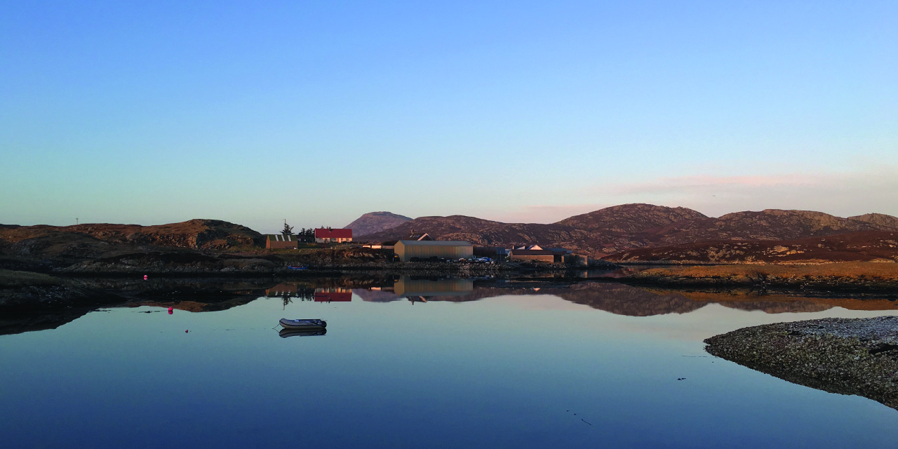 Tigharry Schoolhouse self catering accommodation carousel 9 reflections Grimsay, North Uist